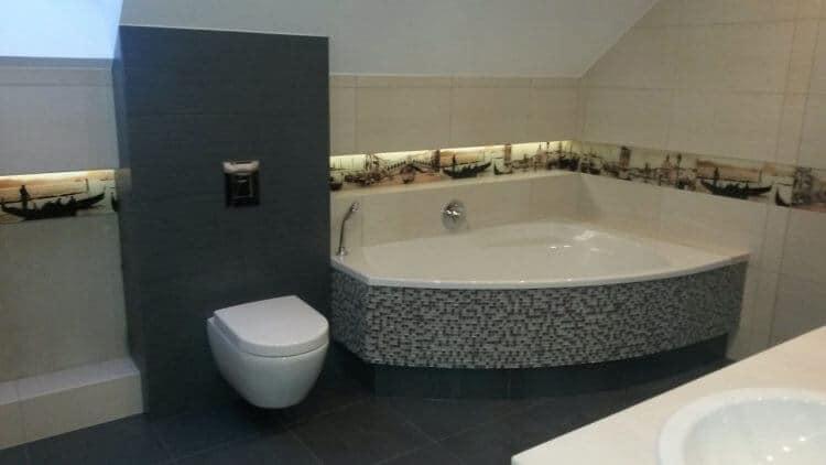 Prace wykończeniowe łazienka 2